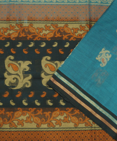 Handloom Vadambacherry Cotton Saree