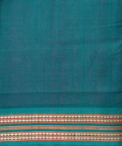 Pink Handloom Bomkai Cotton Saree