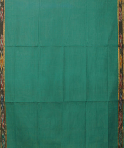 Manamedu Green Cotton Handloom Saree