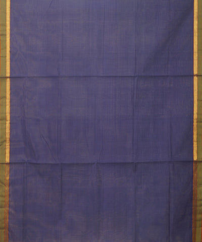 Manamedu Violet Handloom Cotton Saree