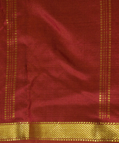 Red Handloom Arni Silk Saree