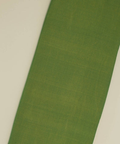 Light Green Handloom Cotton Silk Fabric