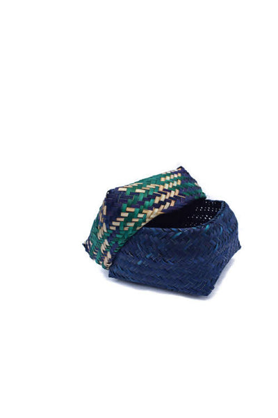 Indigo Handmade Sitalpati Gift Box Set of 3