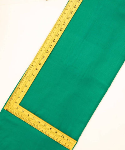 Jade Green Handwoven Cotton Bamboo Twill Weave Fabric (10m per quantity)