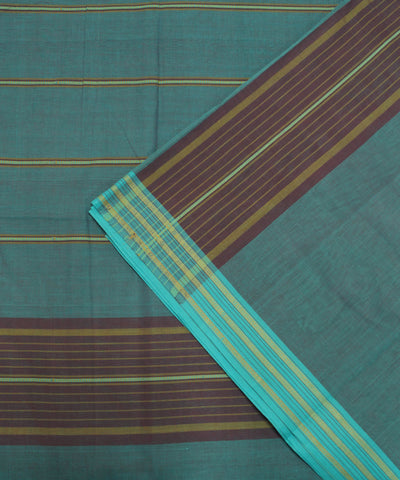 Grey Handloom Organic Cotton Saree