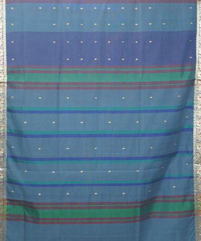 Paramakudi Striped Handloom Cotton Saree