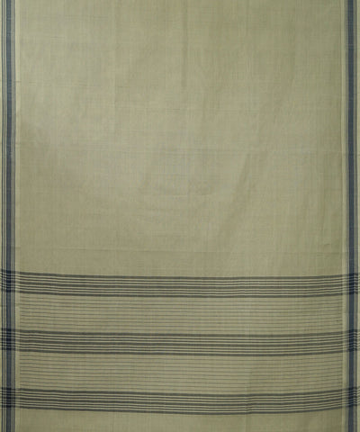 Paramakudi Off White Cotton Handwoven Saree