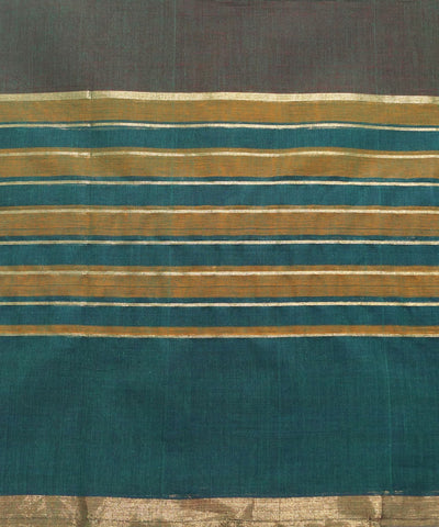 Dark Green Handloom Paramakudi Cotton Saree