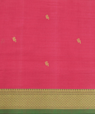 Pink Handloom Paramakudi Cotton Saree