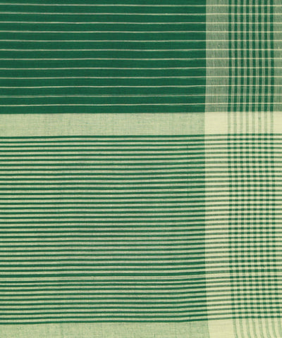 Paramakudi Handwoven Green Cotton Saree