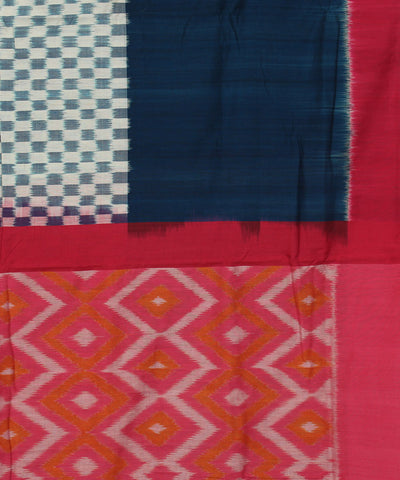 Pochampally Multicolor Handloom Cotton Saree