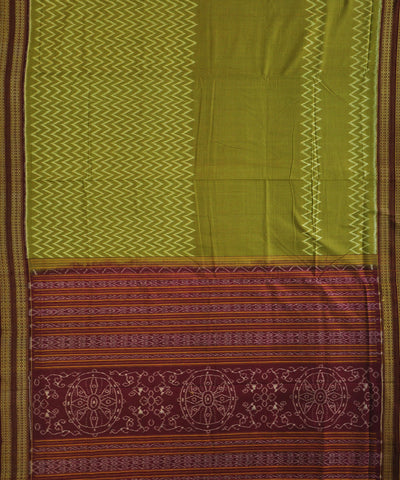 Bargarh Mehendi Cotton Saree