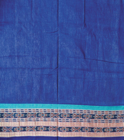 Exclusive  Deep ChampagneDeep Koamaru And Aqua  Peacock Designed   tie And dye Bomkai cotton Saree