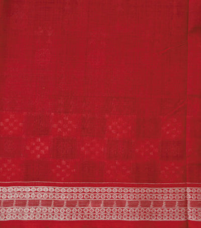 Exclusive Blue-Magenta Violet And Maroon  Traditional tie And dye Sambalpuri ikat cotton Saree