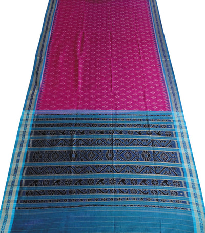 Exclusive Dark Violet And Cupper Solphate Traditional Design Tie And Die Cotton Saree