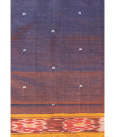 Purple PolyCotton Saree