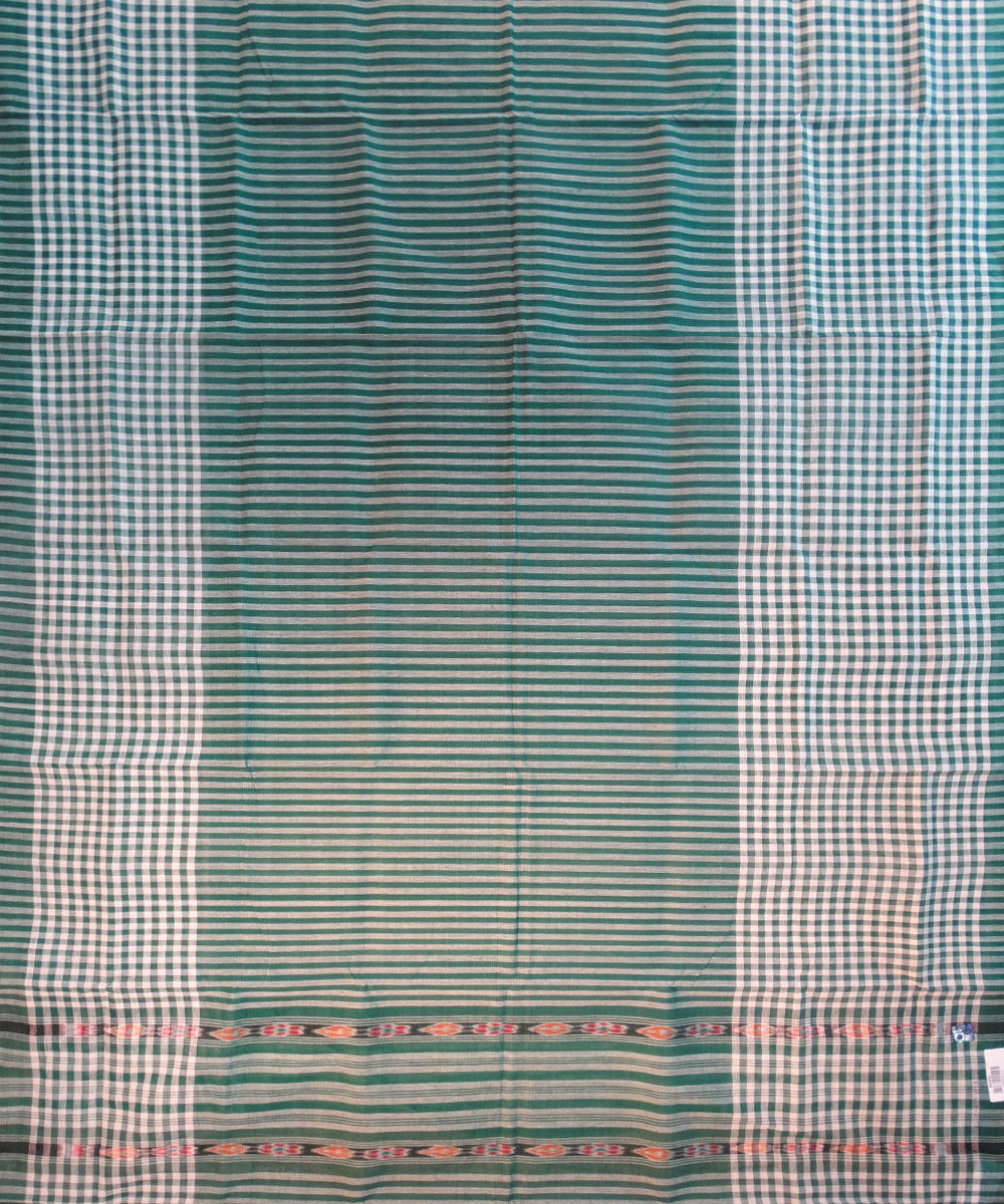Green Nuapatna Cotton Saree