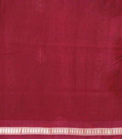 Exclusive Antique Bronze And Maroon Traditional Bomkai Cotton saree