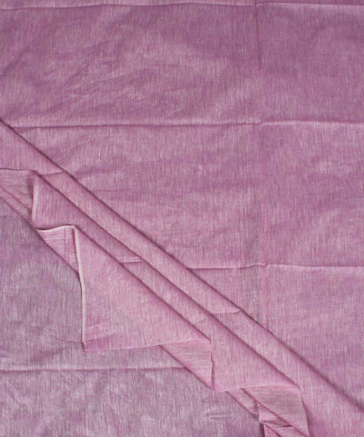 Light Pink Handloom Khadi Cotton Fabric