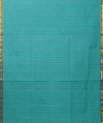 Salem Handloom Cotton Saree in Sky Blue