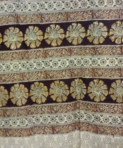Kalamkari Handblock Printed Cotton Saree