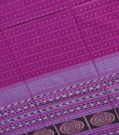 Exclusive Barbie Pink And Deep Fuchsia Traditional Ikat tie And dye Cotton Dupatta