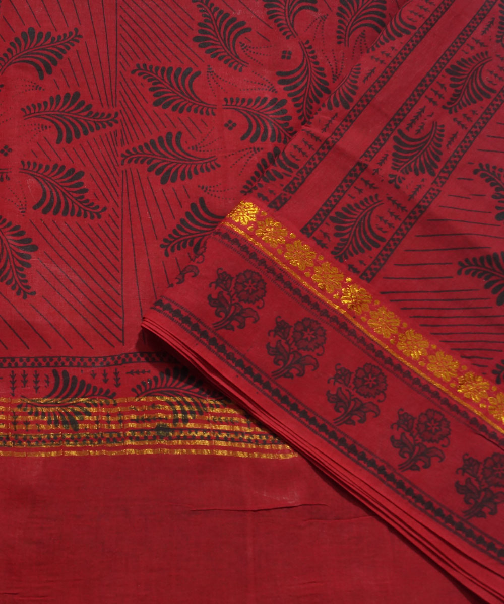 Madurai Sungudi Green and Pink Cotton Saree
