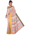 Bengal Handloom Multicolour Cotton Saree