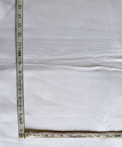 white denim handspun handwoven cotton fabric (10m per quantity)