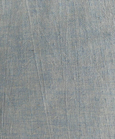 blue white yarn dyed handspun handwoven cotton fabric (10m per quantity)