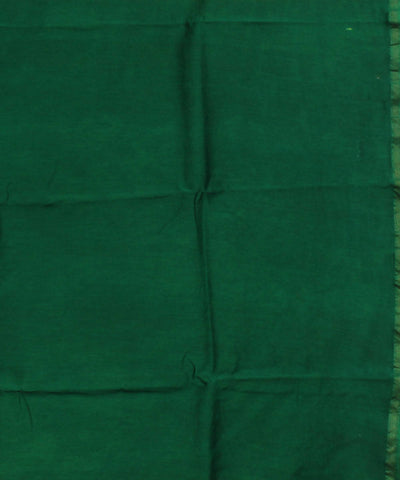 Maheshwari Batik Printed Lime Green Saree