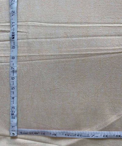 white yellow yarn dyed handspun handwoven cotton fabric (10m per quantity)