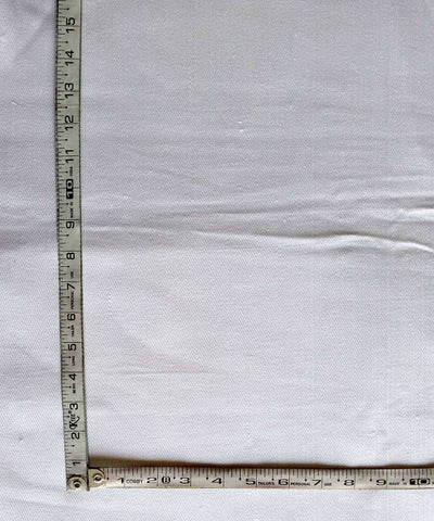 white handspun handwoven cotton Denim trouser and jacket fabric