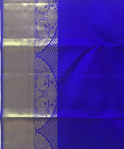 Double shaded Purple Butta Work Handloom Silk Saree