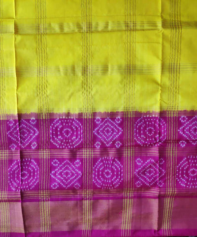 Multicolor handloom pochampally ikat silk saree