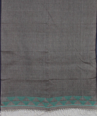 Bengal Handloom Grey Jamdani Cotton Stole