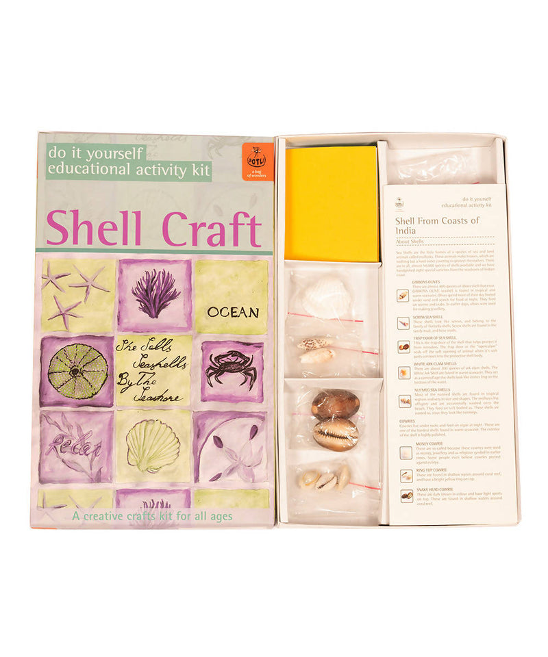 Handmade DIY Educational Toys Shell Craft Kit