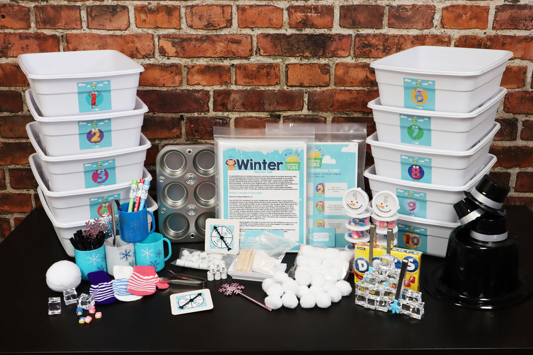 Winter Morning Tubs + Starter Kit