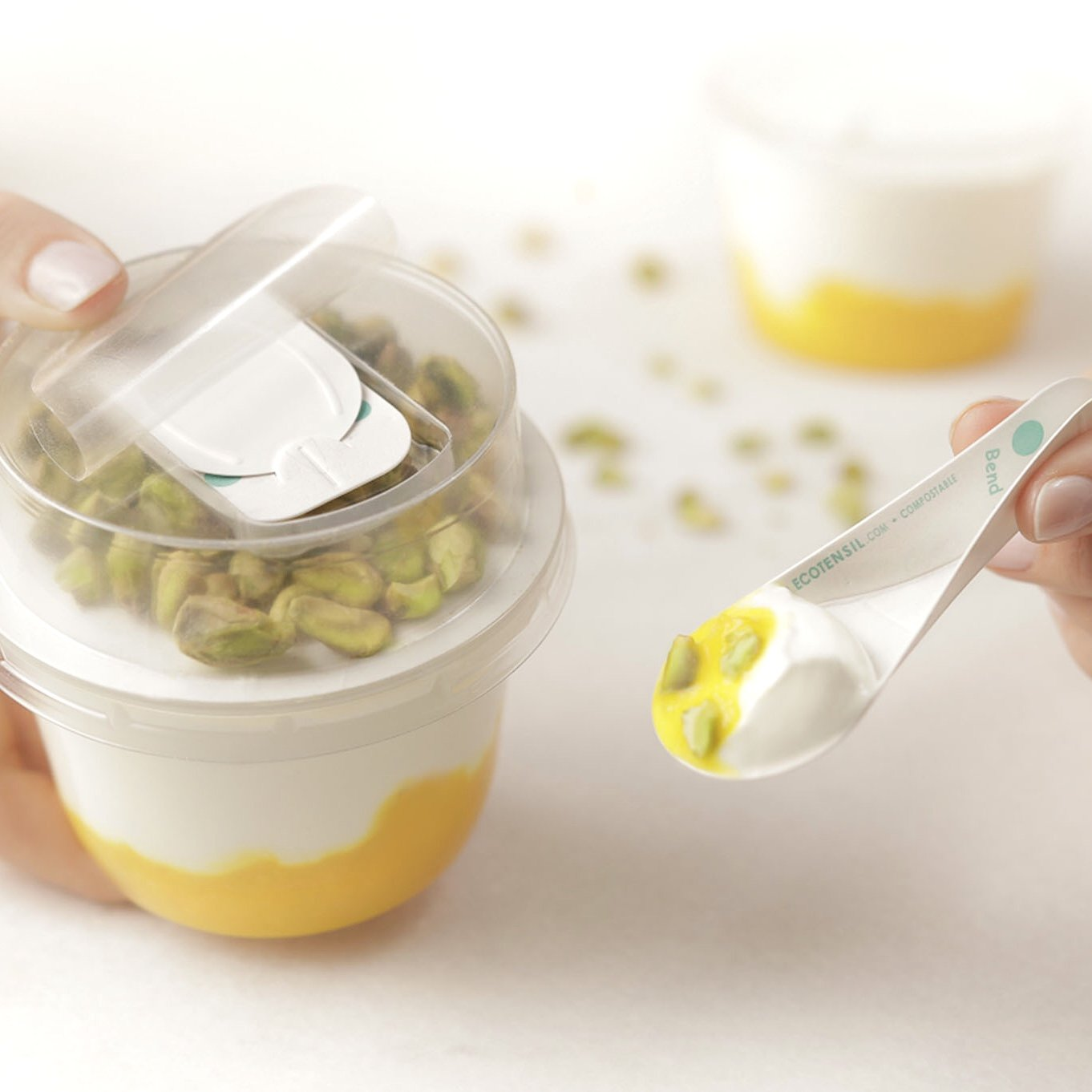 EcoTensil® launches the new AquaDot© range of plastic-free paperboard cutlery in the EU ahead of single-use plastic ban