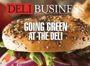 GOING GREEN at the Deli - From utensils to meat, a change is in the air