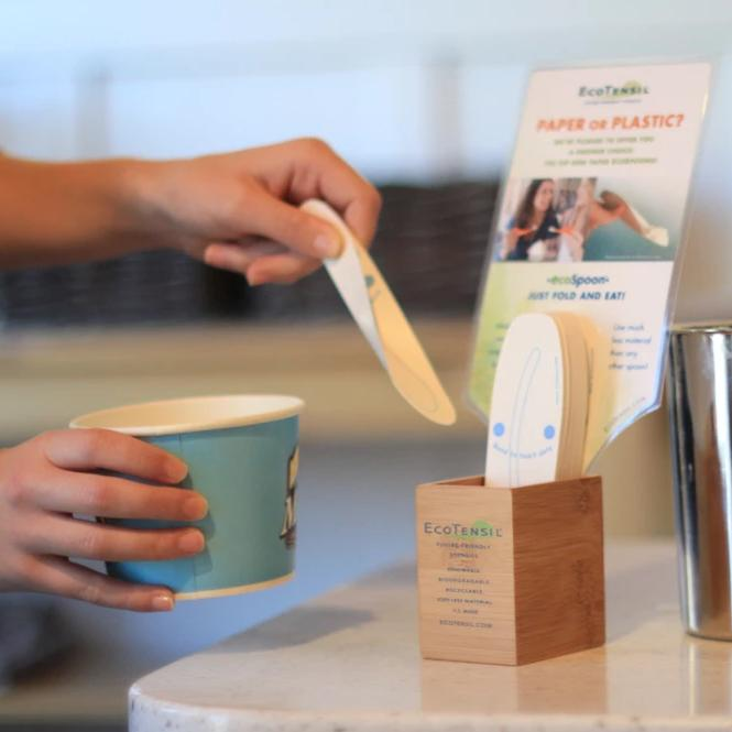 Two Bamboo Dispensers for EcoSpoon®5