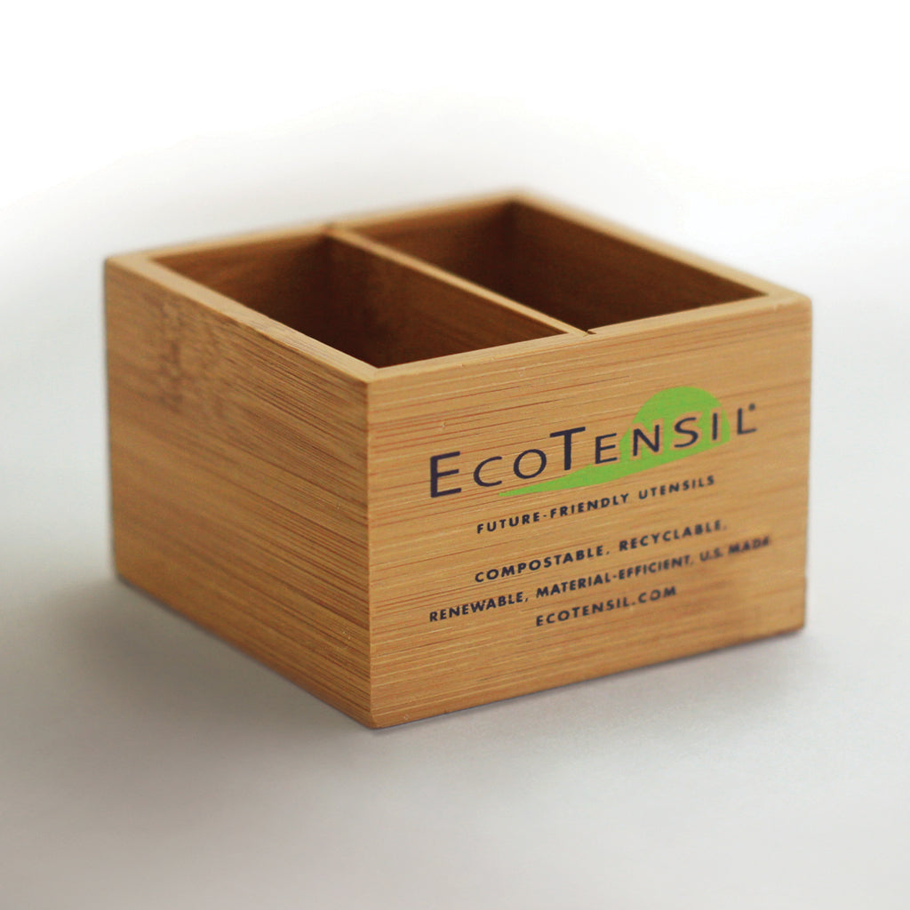 Two Bamboo Dispensers for EcoTaster®  Mini