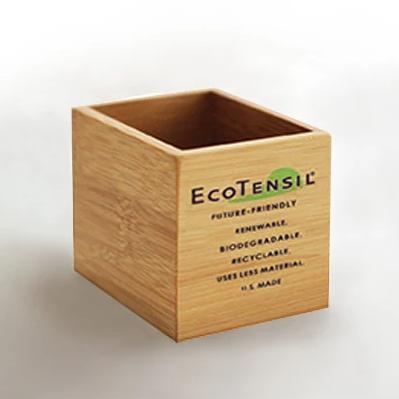 iScoop or ETMid Bamboo Dispenser ñ Set of Two