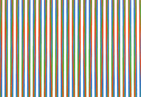 Op Art Firebird Screenprint 1971 Bridget Riley