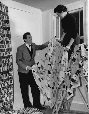 Lucienne Day and her husband furniture designer Robin