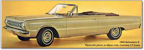1966 Plymouth Fury Belvedere