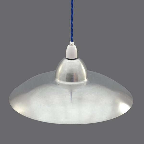1950s/1960s Flying Saucer aluminium Ceiling Light/Pendant Light