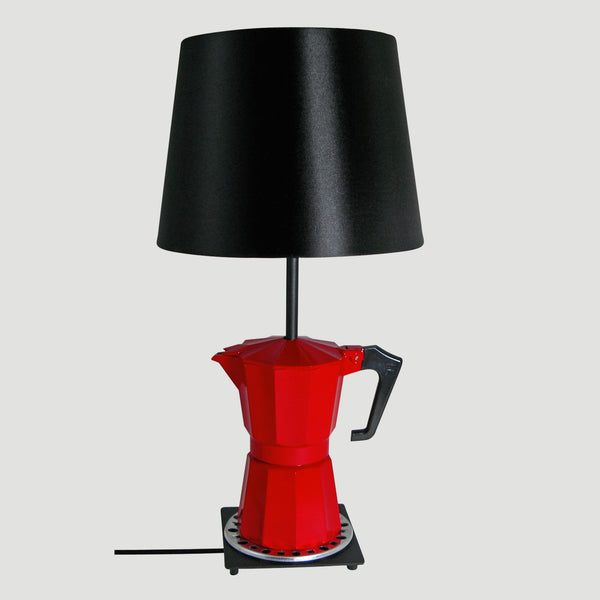 'CAFFE LAMPADA' TABLE LAMP  ❘ Funky unusual lighting made from repurposed objects, Table lamps, Floor lights, Pendant lights and uplighters