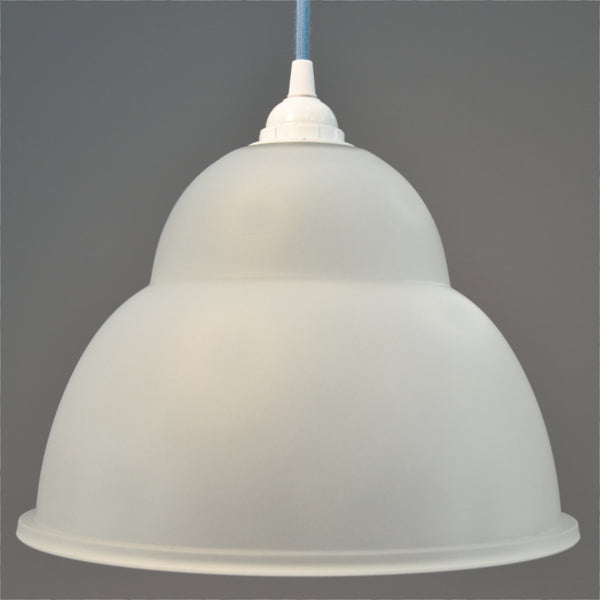 Bell shaped glass pendant shade/ceiling light