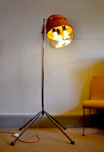 Mid Century Modern lighting, Floor lamp 'The Salonaire'